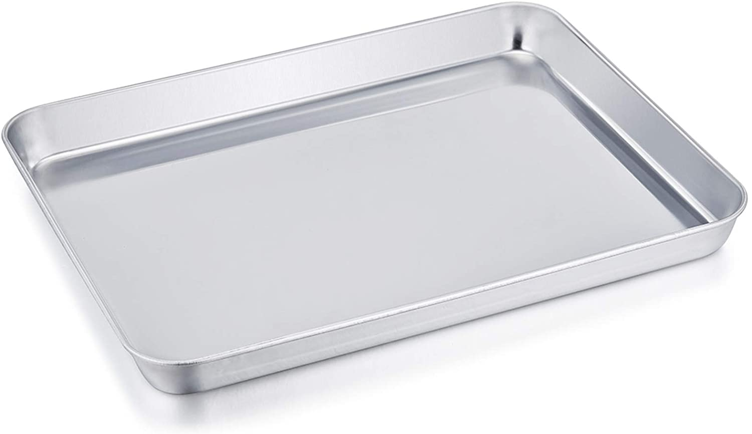 8/'/'x10/'/'x1/' Stainless Steel Compact Toaster Oven Pan Tray Ovenware Professional
