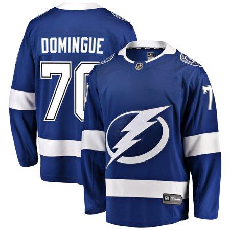 Louis Domingue Tampa Bay Lightning Fanatics Branded Youth Breakaway Player Jersey -
