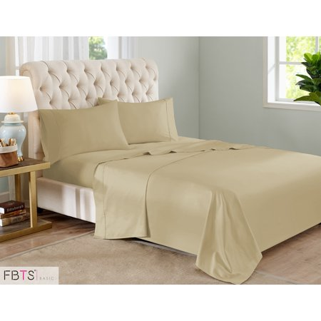 Sheet Sets King Taupe 800 Thread Count Like Cotton Rich Blend Hotel Quality Luxury Bedding With 18 Deep Pockets 4 Piece Breathable Super Soft Bed