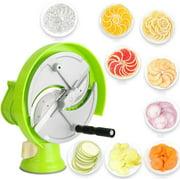 Manual Fruit Vegetable Slicer Slicer Fruit Vegetable Slicing Machine Salad Shredder Slicer Home Commercial Use