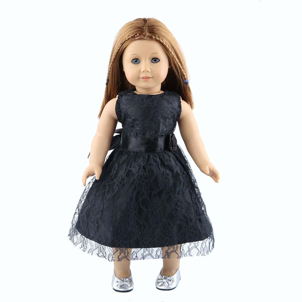 Mosunx High Quality Lace skirt For 18 inch Our Generation American Girl Doll BK