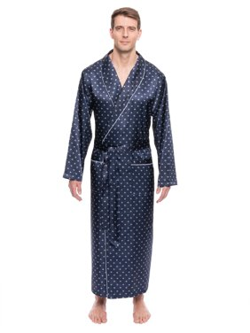 Product Image Twin Boat Men s Satin Long Robe 21f3c7f1a