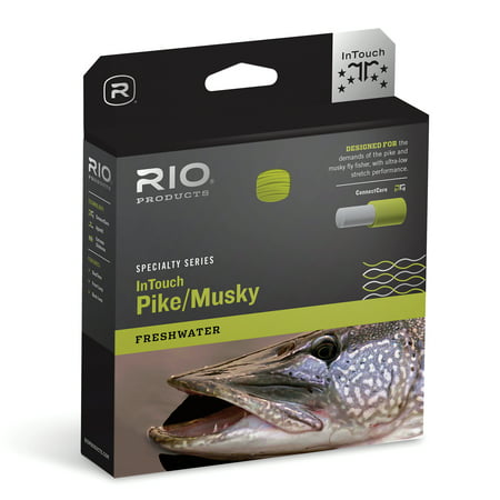 Pike Fly Patterns - RIO InTouch Pike/ Musky Short Head Weight Forward Fly Line - All Sizes