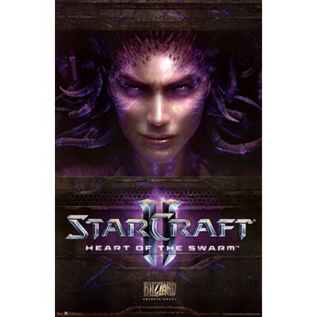 StarCraft II Heart of the Swarm Poster Print