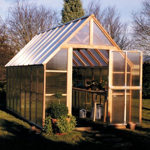 Sunshine Mt. Rainier 8 x 16 Foot Greenhouse Kit