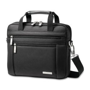 "Samsonite 43272-1041 Samsonite Classic Carrying Case for 10.1"" Netbook - Black - Nylon - Handle, Shoulder Strap"