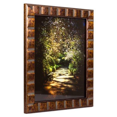 Craig Frames Mosaic, Aged Bronze Picture Frame, 16 x 24 Inch - Mosaic Frames