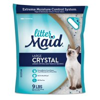LitterMaid Large Crystal Litter 9 Pounds, Easy-Pour Bag