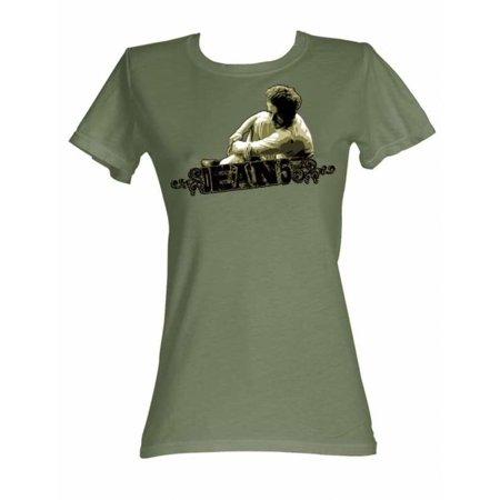 James Dean Icons Dean 55 Juniors Short Sleeve T Shirt](James Costume)