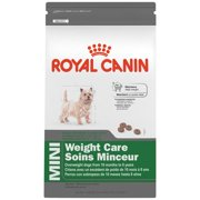 SIZE HEALTH NUTRITION MINI Weight Care dry dog food, 2.5-Pound, Maintains ideal weight By Royal Canin