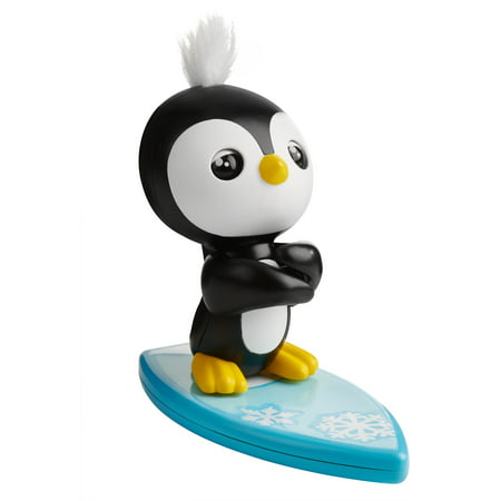 Fingerlings Baby Penguin - Tux (Black and White) - Interactive Toy