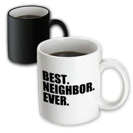 3dRose Best Neighbor Ever - Gifts for good neighbors - fun humorous funny neighborhood humor, Magic Transforming Mug, 11oz - Halloween Gifts For Neighbors