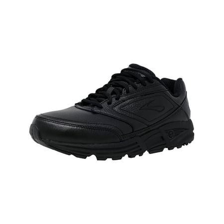 ff7c3f27ea1 Brooks Men s Addiction Walker Black Ankle-High Leather Walking Shoe -  10.5WW - image ...