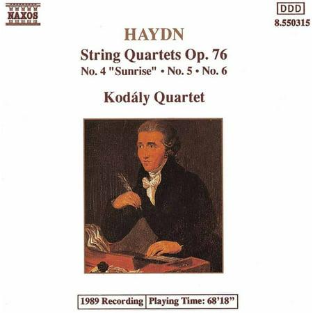 String Quartets Op 76, 4-6 (Haydn String Quartet Op 76 No 3)