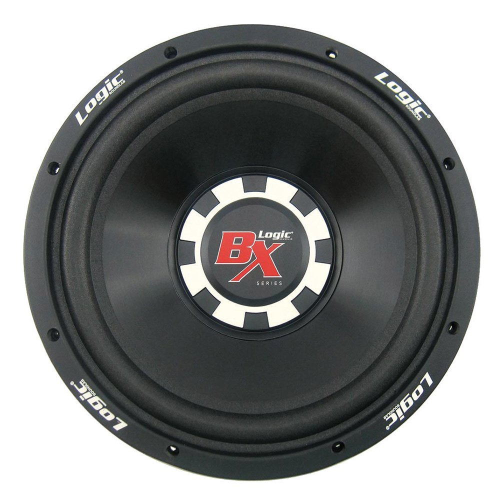 Logic Soundlab Logic-BX12 600 Watts Max 12 Inch Single Voice Coil Subwoofer