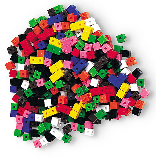 Learning Resources Gram Unit Cubes, Set of 1000