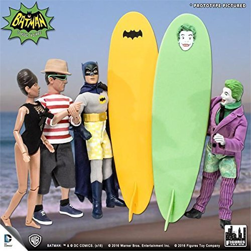 Batman Classic 1966 TV Series Retro Action Figures: Surfi...