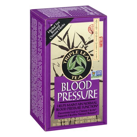 Triple Leaf Tea Bags, Blood Pressure, 1.40 Oz, 20 Ct