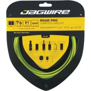 Jagwire Road Pro Complete Shift and Brake Cable Kit, Organic Green