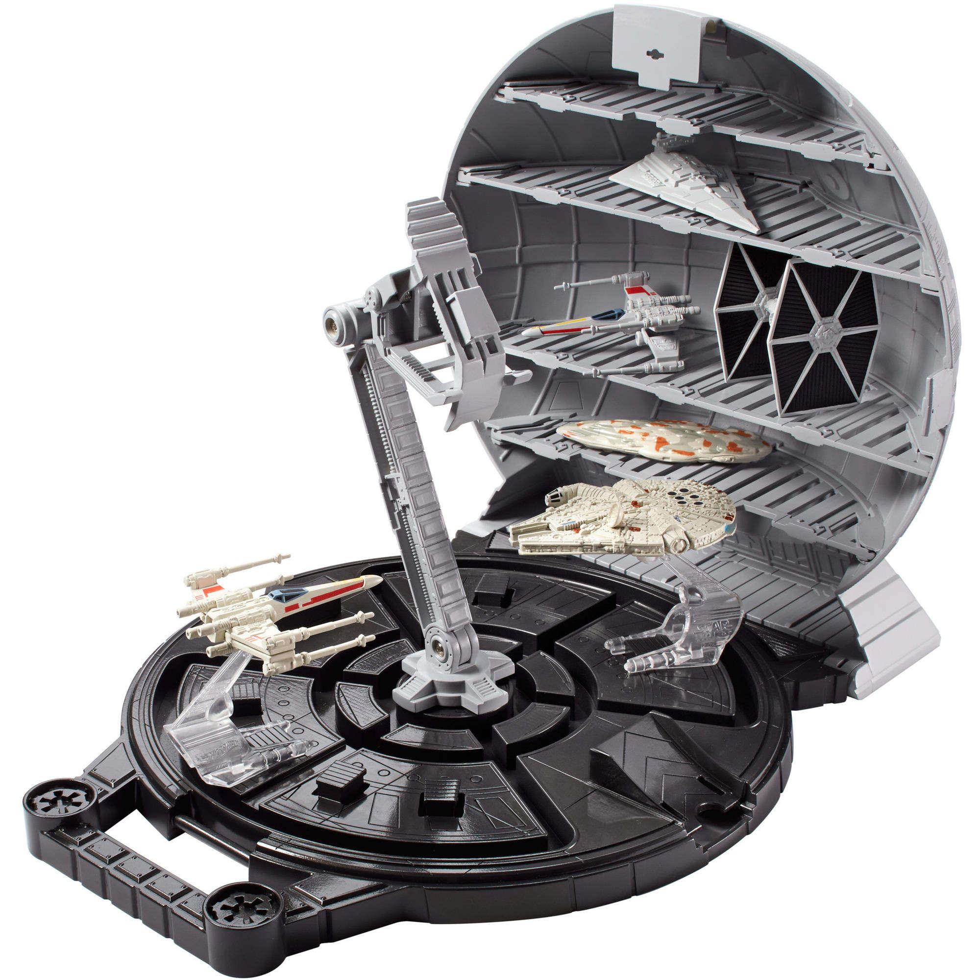 Hot Wheels Star Wars Death Star Space Station Play Case