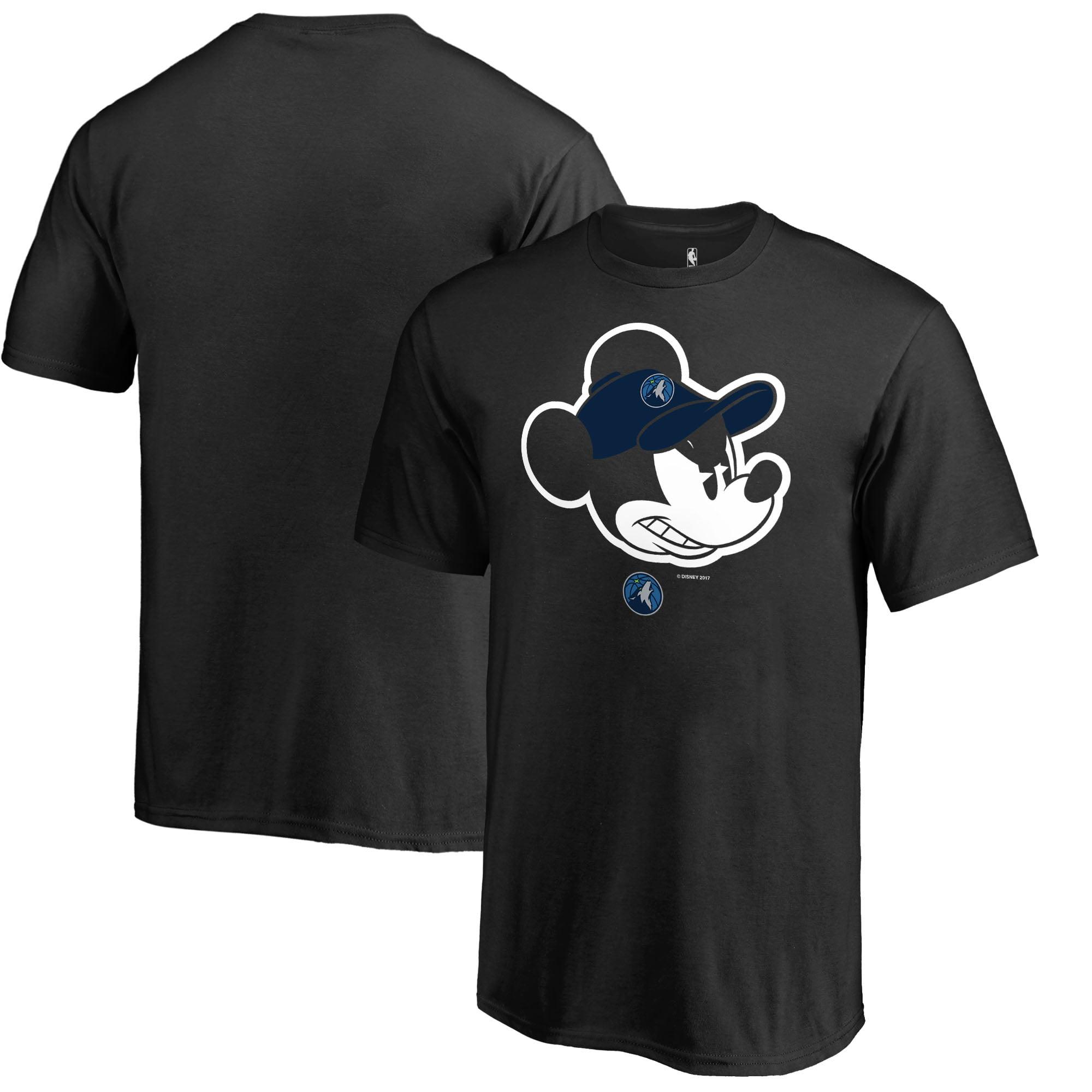 Minnesota Timberwolves Fanatics Branded Youth Disney Game Face T-Shirt - Black