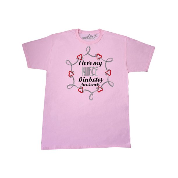 I Love My Niece Diabetes Awareness T-Shirt