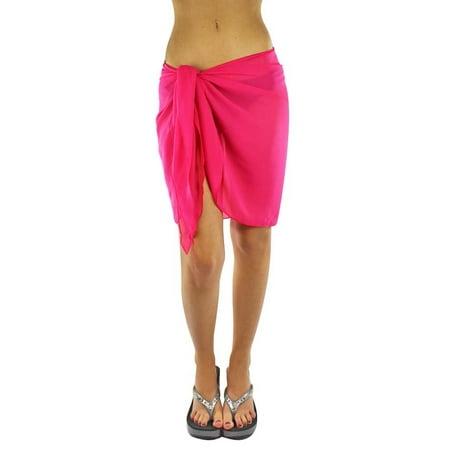 Womens Short Sarong Wrap Cover (Sarong Cover Up)