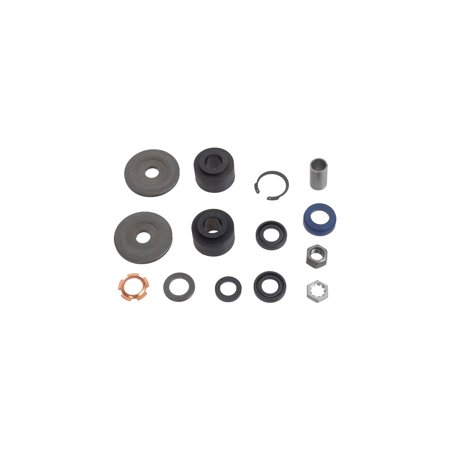 MACs Auto Parts Premier  Products 44-39612 - Mustang Power Steering Cylinder Piston Rod End Seal Kit Piston Rod Seals