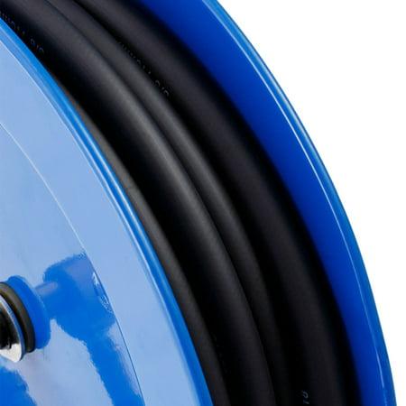 Auto Rewind Retractable Air Compressor Hose Reel 300 PSI Garage Tool - image 4 of 9