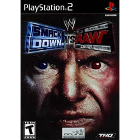 WWE Smackdown vs. Raw - PS2 Playstation 2