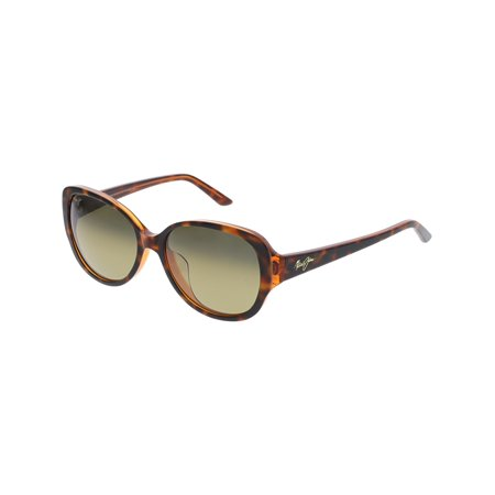 7db5f86cb Maui Jim - Maui Jim Women's Polarized Swept Away HS733-10N Brown Butterfly  Sunglasses - Walmart.com