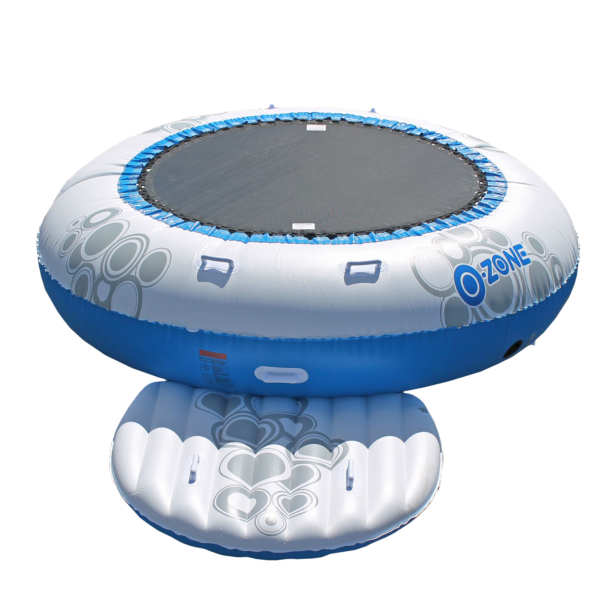 RAVE Sports Kids Inflatable Floating O Zone Lake House Water Jumper Bouncer