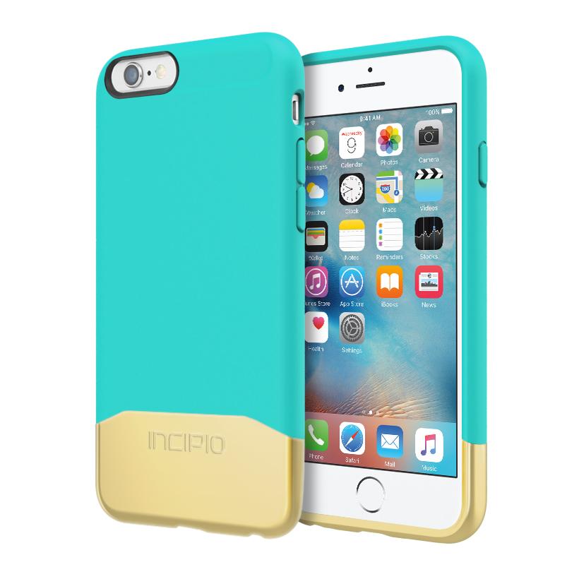 Incipio Edge For Iphone 6 s Teal gold by INCIPIO