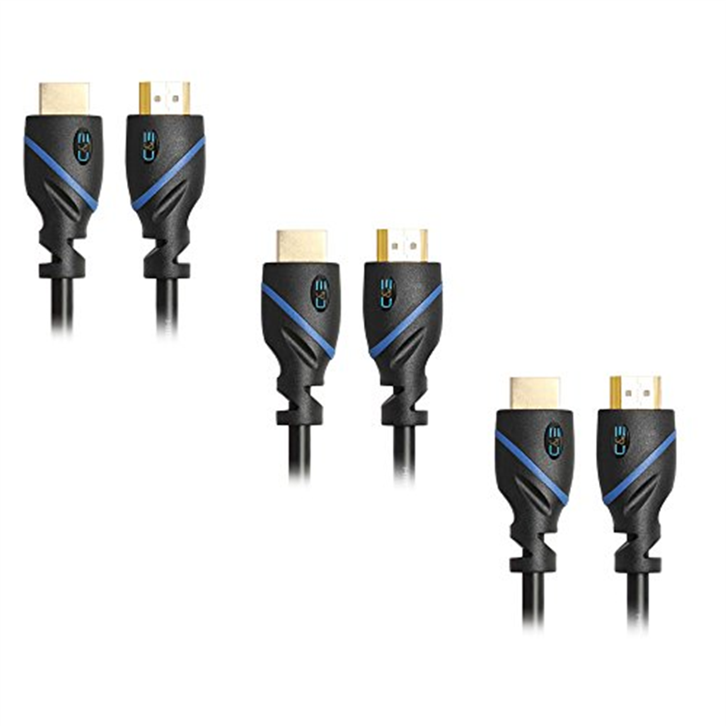 High-Speed HDMI Cable Supports Ethernet, 3D and Audio Return [Newest Standard], 10 Feet, 3