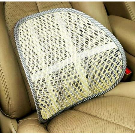 Zone Tech Mesh Hollow Car Auto Chair Seat - Light Color Hollow Car Auto Chair Seat Back Cushion Home Office Waist Lumbar Support Pillow