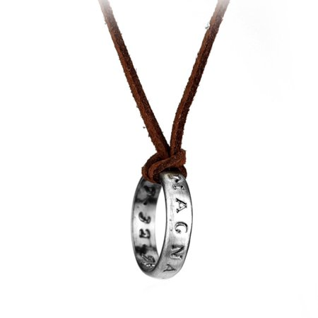 Drake's Deception Sir Francis Necklace Ring Uncharted 3 Pendant Jewelry Gift (Ring Series Pendant)