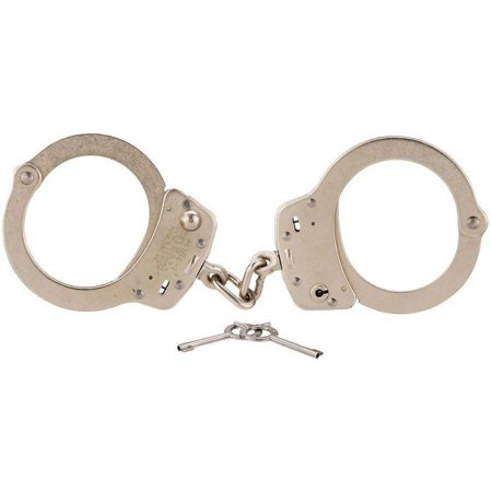 Smith and Wesson 350107 104 Maximum Security Handcuffs, Nickel