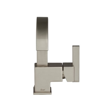 Danze D221144BN Sirius Single Handle Bathroom Faucet with Metal Touch-Down Drain, Brushed Nickel