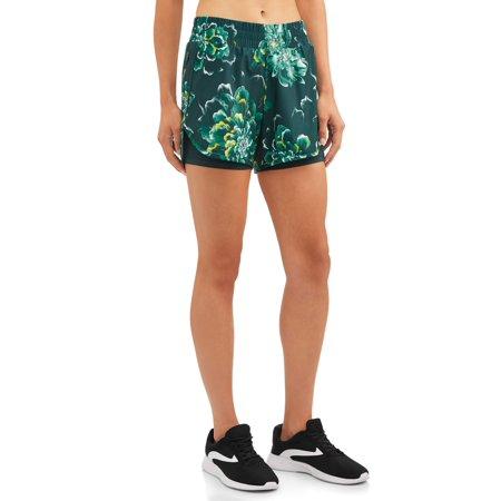 Women's Active Printed Running Shorts