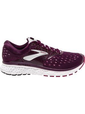 Brooks Women's Glycerin 16 Running Shoe, Purple/Pink/Grey, 5.5 B(M) US