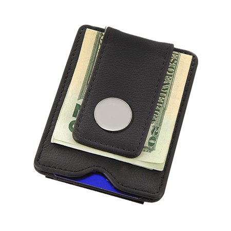 MonogramOnline Leather Wallet and Money Clip ()