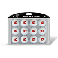 Team Golf NHL Calgary Flames Golf Balls, 12 Pack