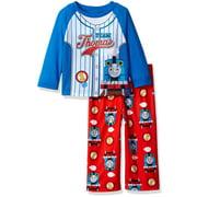 Thomas the Train Toddler Boys' 2-Piece Pajama Set, Team Stripes, Size: 2T