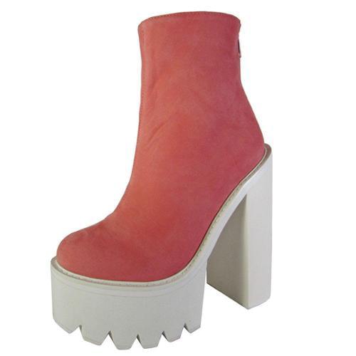 Jeffrey Campbell Womens Mulder Platform Heel Boot Shoe