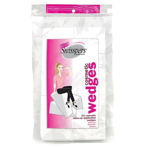 Swisspers Cosmetic Application Wedges 32 ea (Pack of 6)