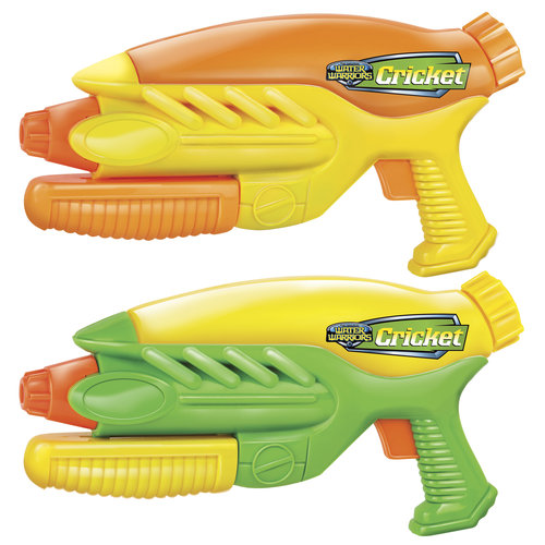 Water Warrior Cricket 2-pack Water Blaster by Buzz Bee Toys (HK) Co., Limited