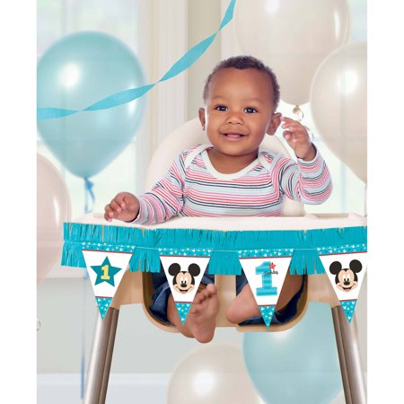 Disney Mickey's Fun to Be One High Chair Decor for $<!---->