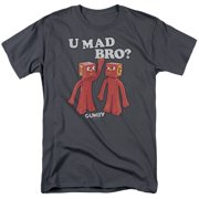 Gumby U Mad Bro Mens Short Sleeve Shirt