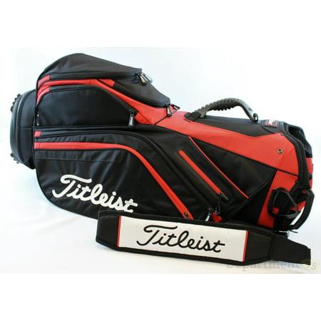 Leist Lightweight Cart Bag Black Red