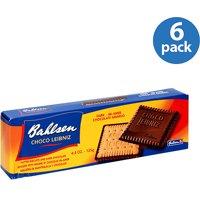Bahlsen Choco Leibniz Dark Chocolate Covered Biscuits, 4.4 oz (Pack of 12)